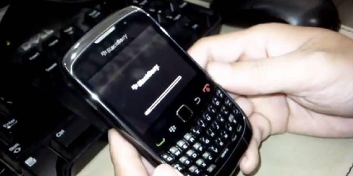 BlackBerry Curve 9300, en un nuevo video