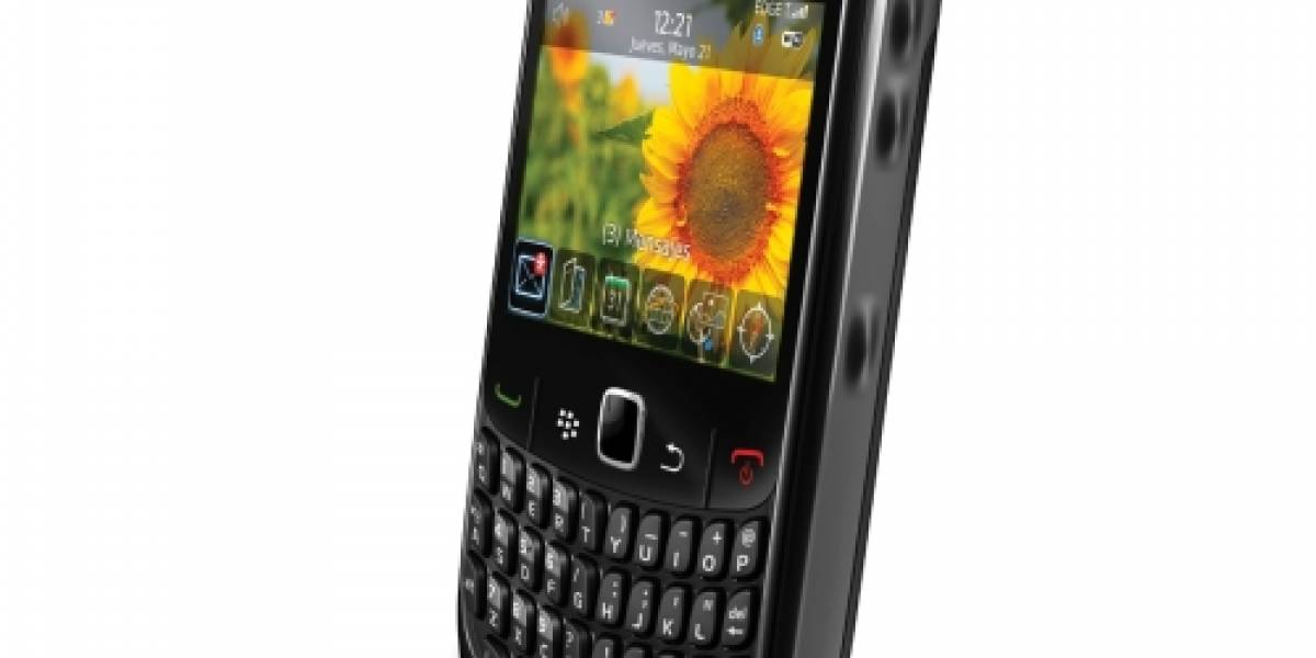 Chile: RIM lanza la BlackBerry Curve 8520