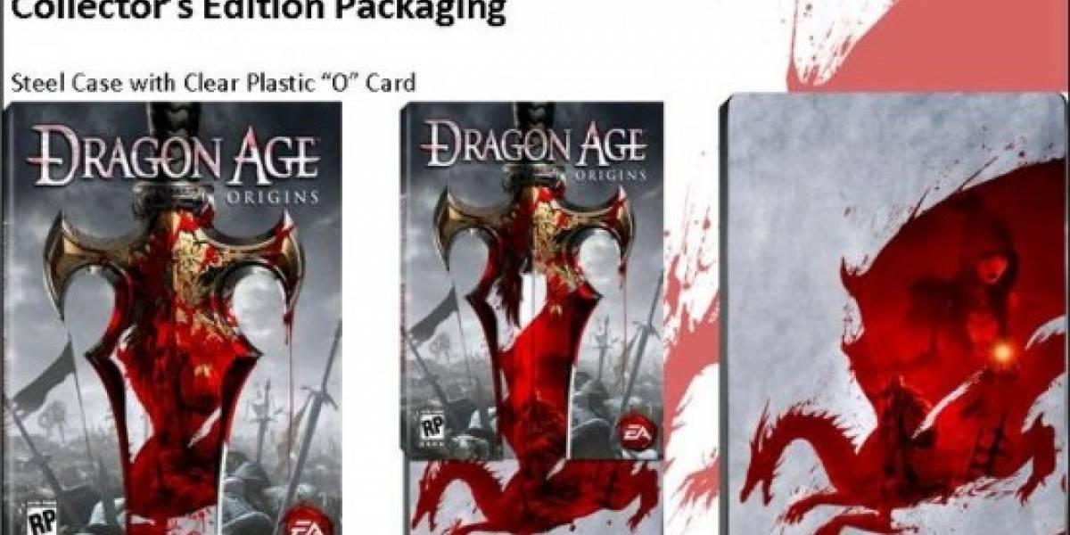 Dragon Age: Origins Edición de Colección con un poquito de Mass Effect 2