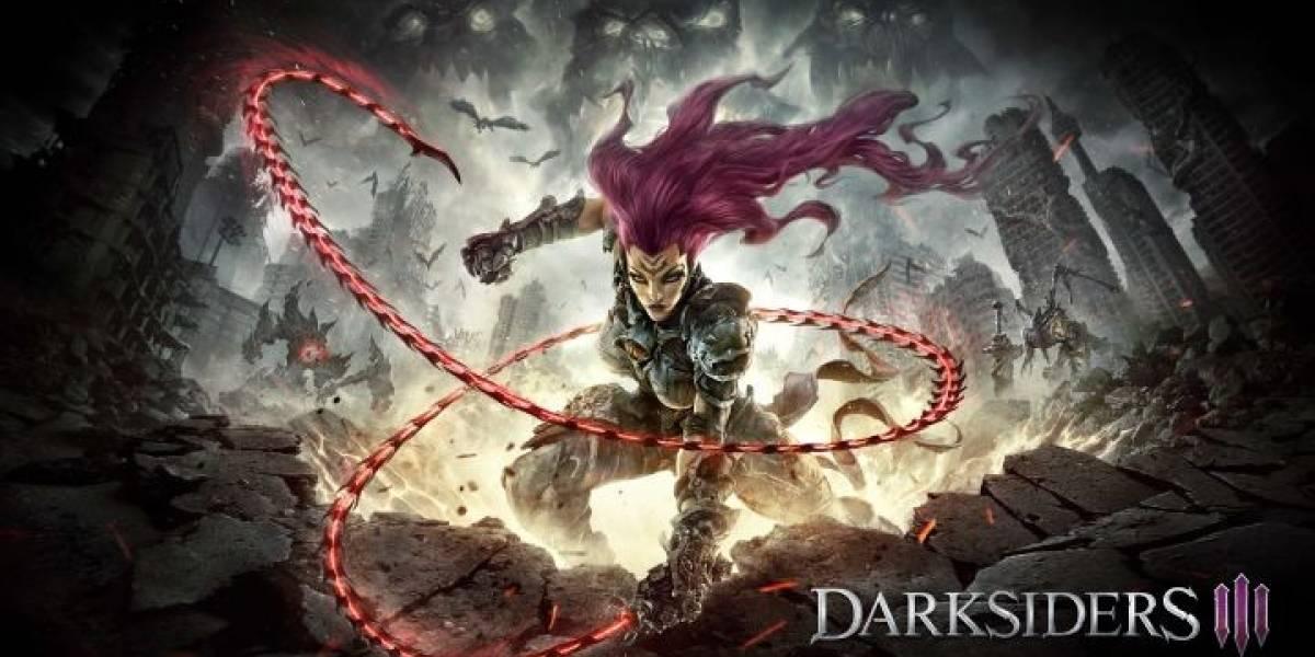 Darksiders III es anunciado oficialmente y recibe su primer tráiler