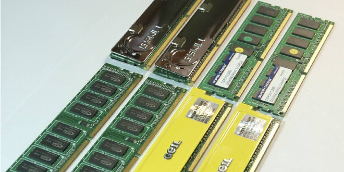 Precios de las memorias DRAM al alza