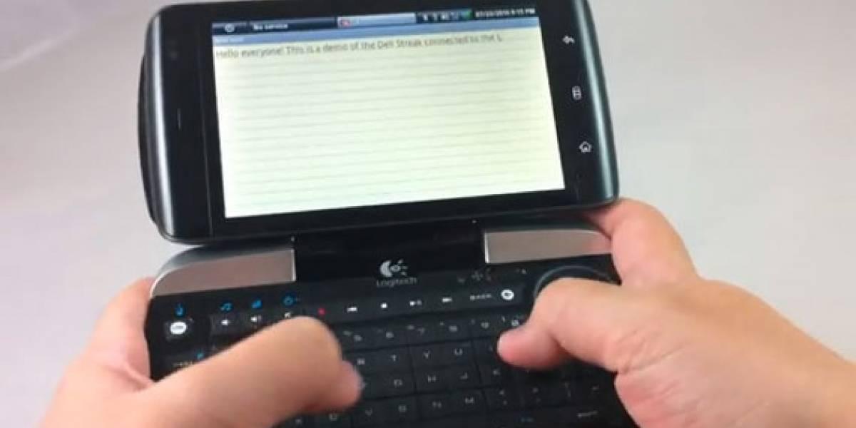 Dell Streak y Logitech diNovo Mini, dos amigos que se venden por separado