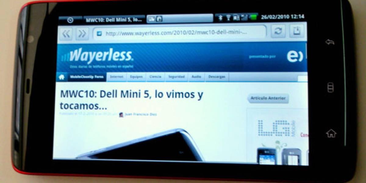 Dell Streak llegará a Europa con O2 (Telefónica)