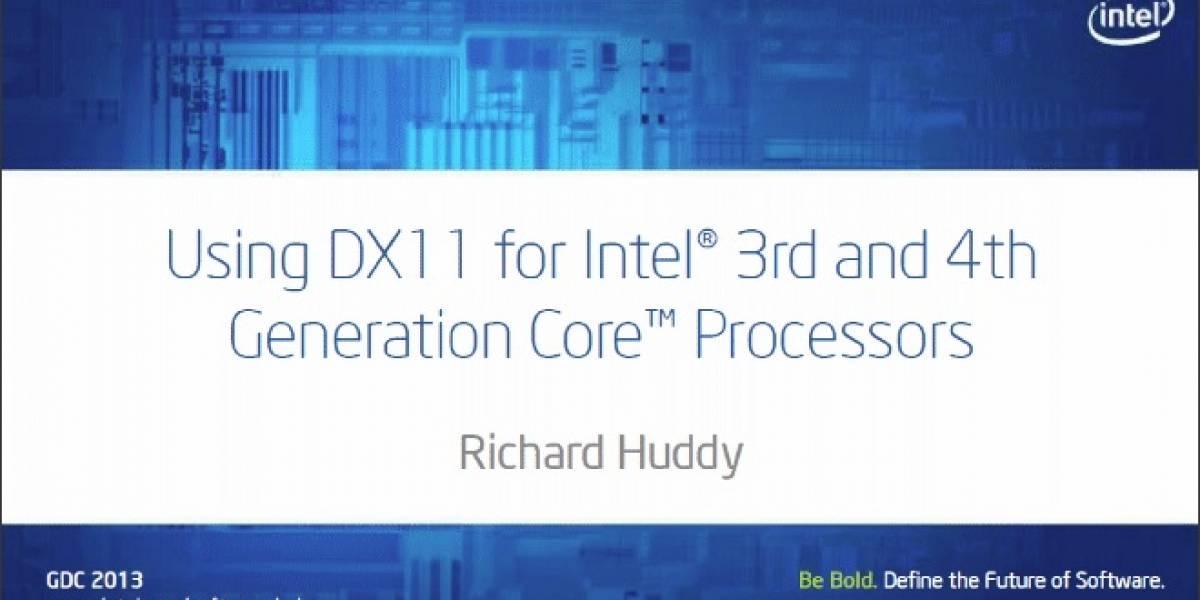 GDC 2013: Intel muestra las ventajas DX11.1 del IGP de Haswell