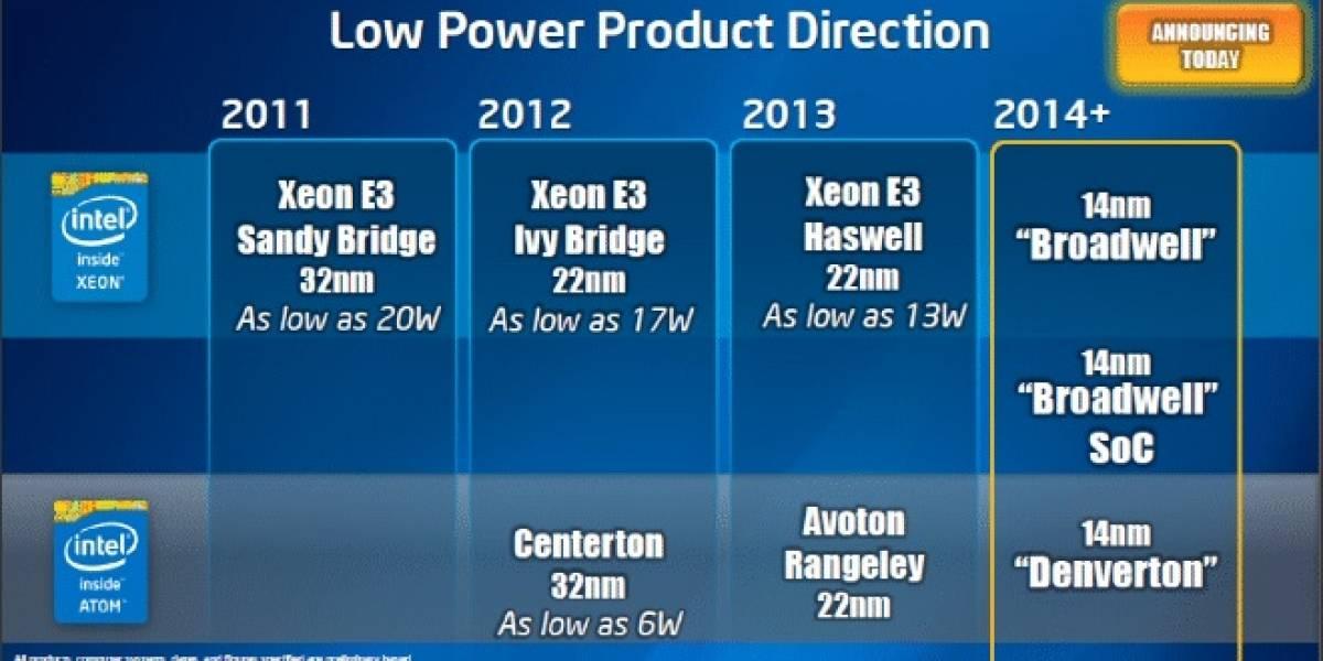 Denverton: El futuro SoC Intel Atom for Server a 14nm