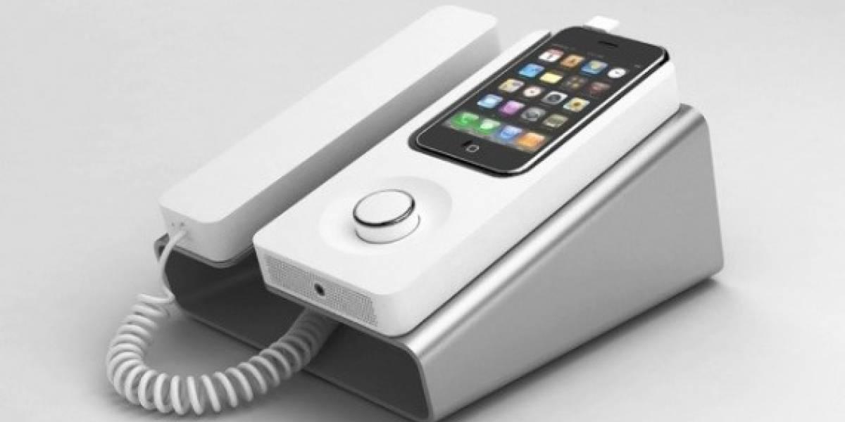 Adaptador de iPhone a teléfono fijo