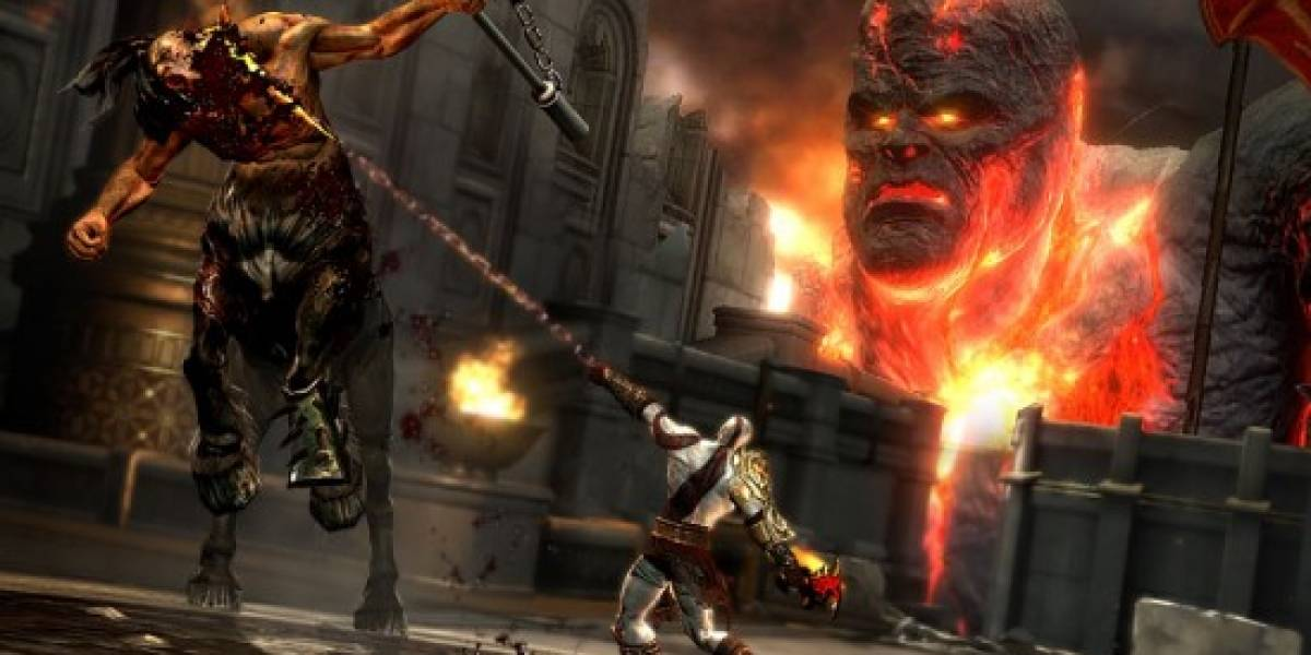 God of War III a primera vista