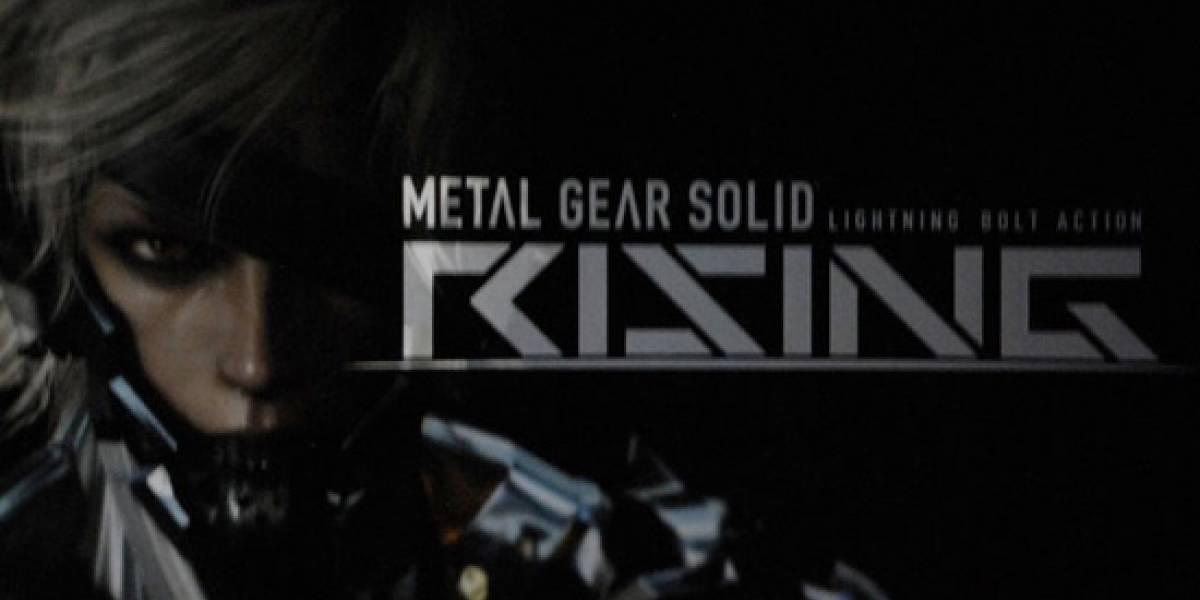 [E309] Metal Gear Solid Rising llegará a Xbox 360 [Actualizado]