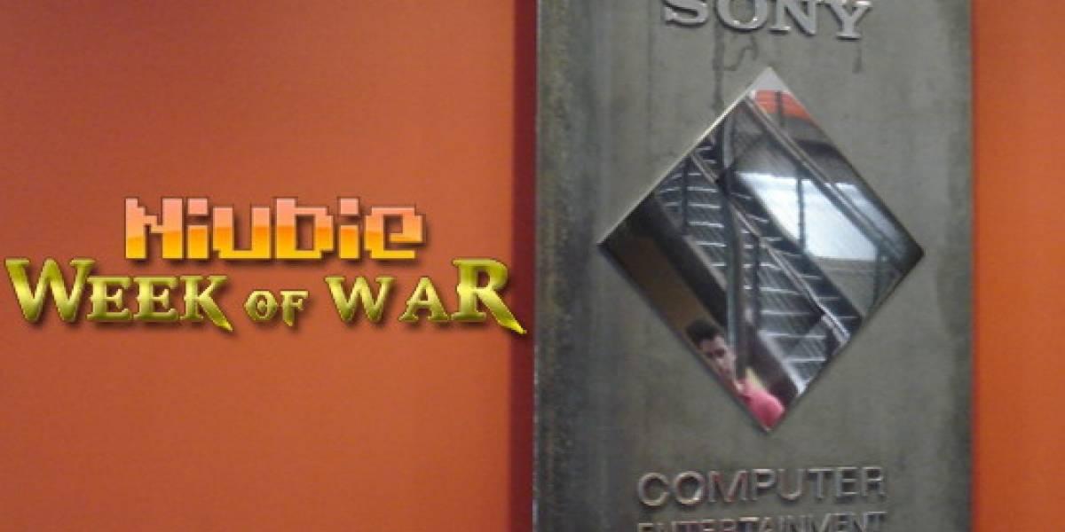 NIUBIE en Sony Santa Mónica [NB Week of War]