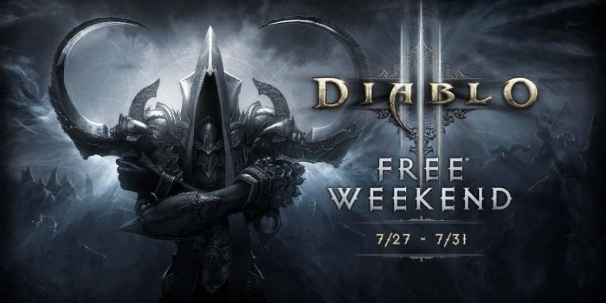 Pueden jugar gratis Diablo III: Ultimate Evil Edition en Xbox One
