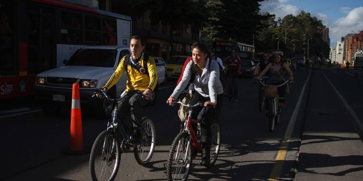 Llevan a cabo en Bogotá caótico día sin carro y sin moto