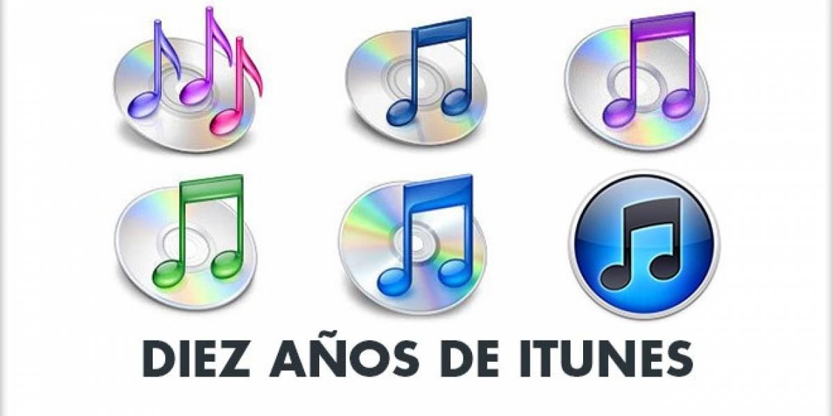 Diez años de iTunes Store