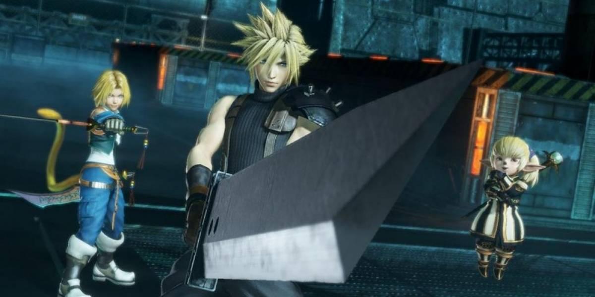 Anuncian Dissidia Final Fantasy NT para PlayStation 4