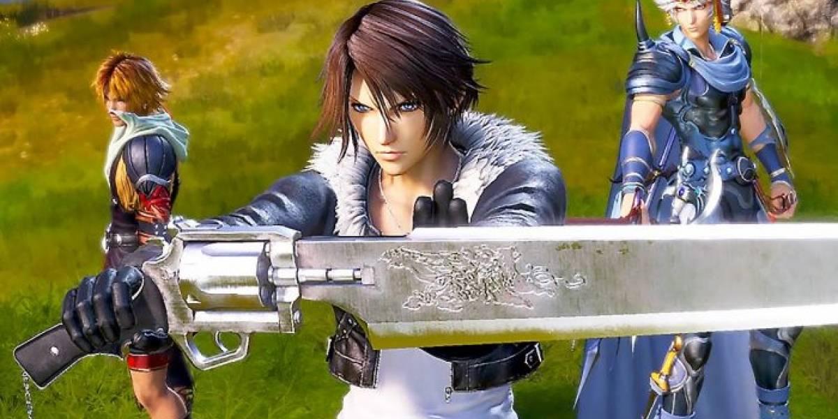 Presentan las diferentes ediciones de Dissidia Final Fantasy NT