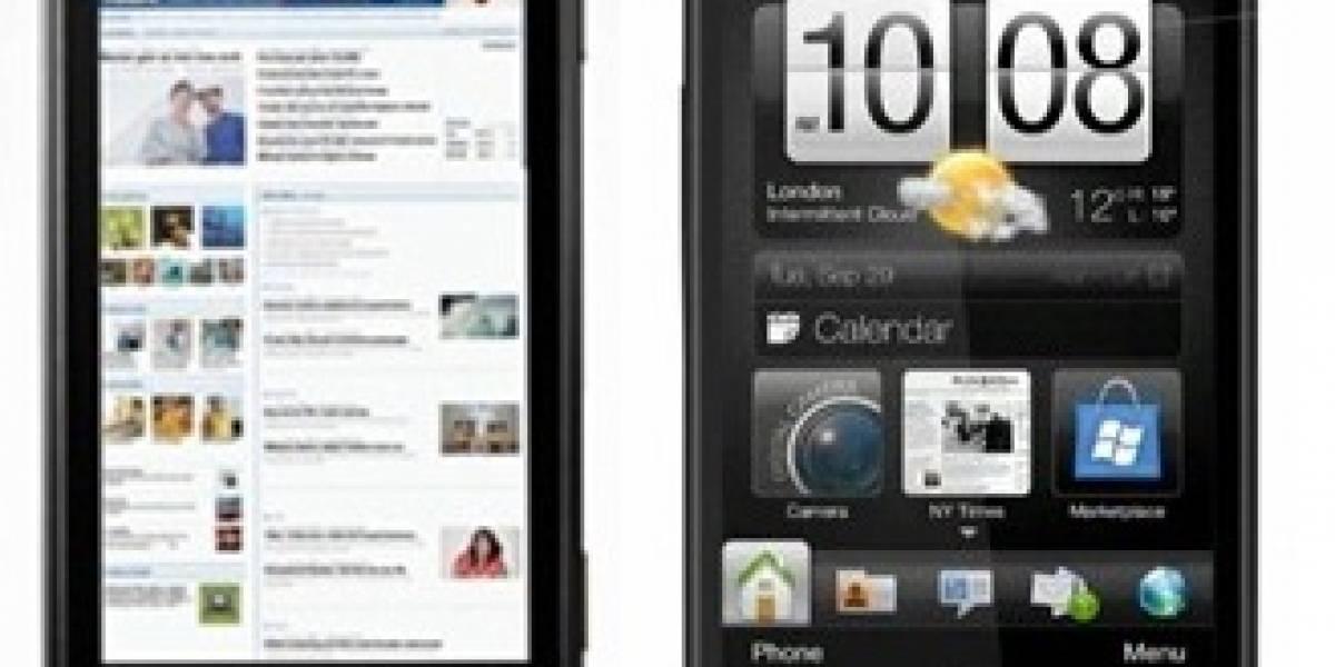Motorola Milestone versus el HTC HD2 (Video)