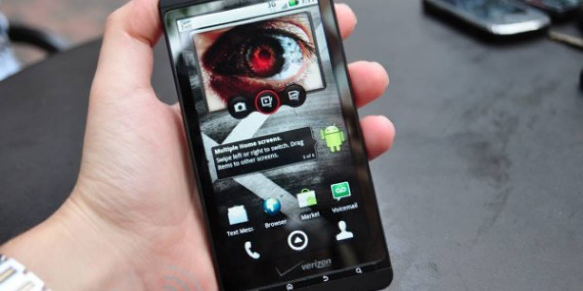 Detalles del Motorola Droid X