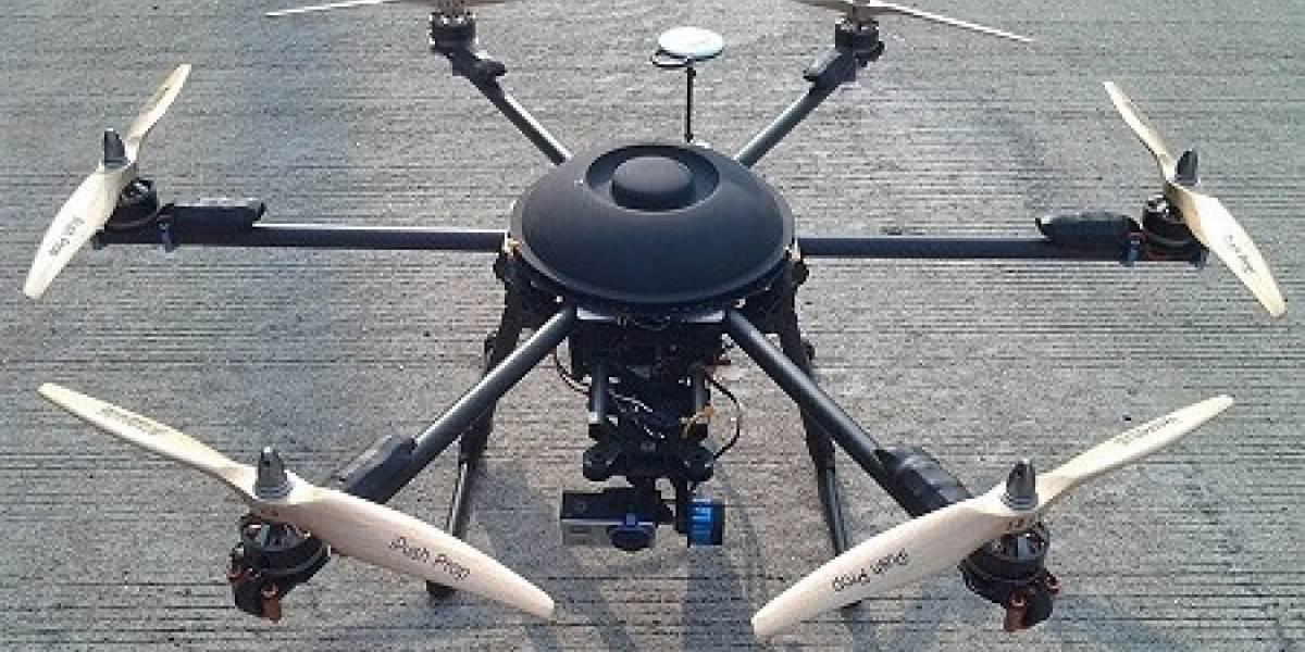 Drones capturan impactantes escenas de protestas en Bangkok
