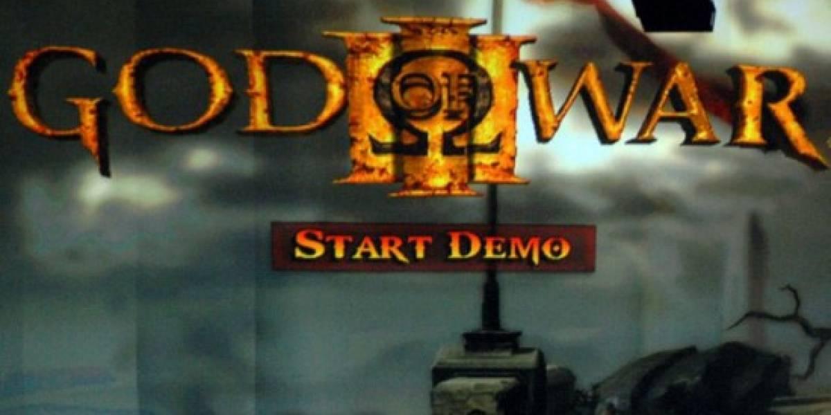[E309] God of War III estará disponible en Marzo de 2010