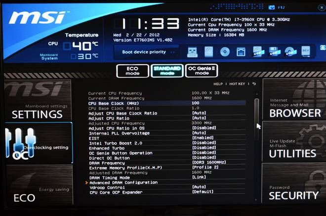 MSI X79A-GD65 Control Center Drivers for PC