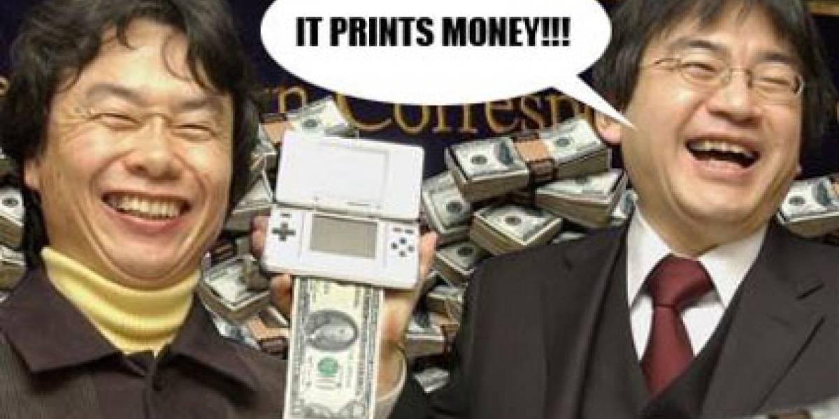 La Nintendo DS vende más que todas las otras consolas juntas