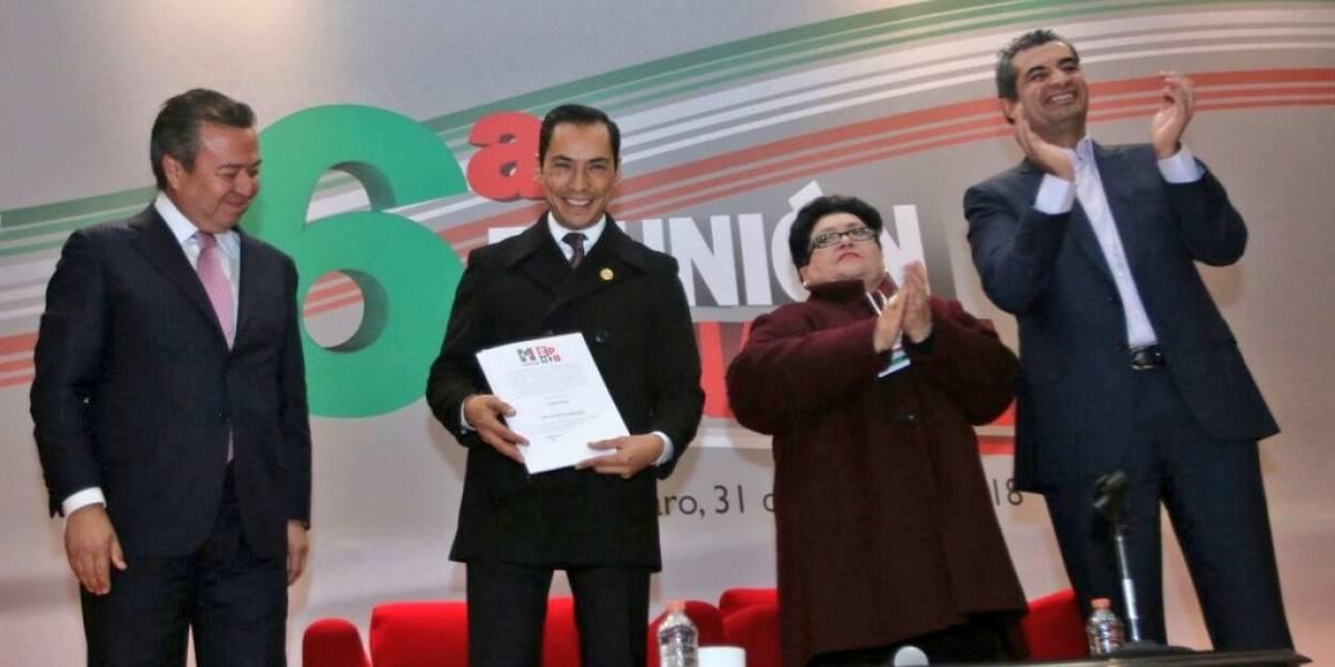 Nombran a Carlos Iriarte como nuevo coordinar del PRI de los diputados
