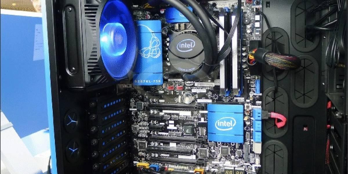 IDF Beijing 2013: Intel muestra su tarjeta madre DZ87KL-75K