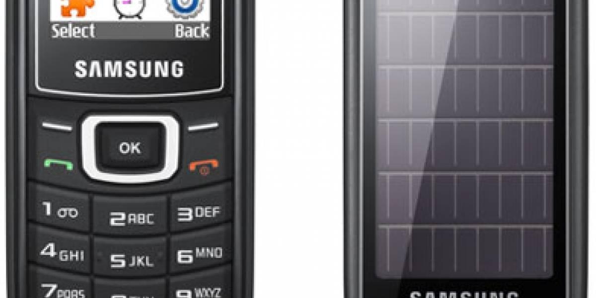 Claro Chile presentó el Samsung E1107 Solar