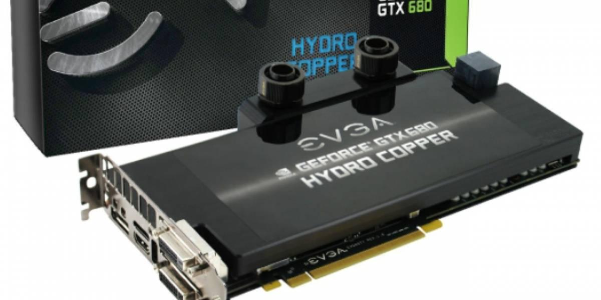 EVGA lanza oficialmente y detalla la GTX 680 Hydro Copper