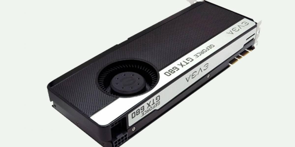 Los detalles de las tarjetas EVGA GTX 680 SuperClocked