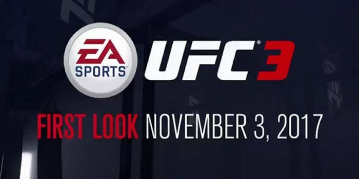 EA Sports UFC 3 será anunciado mañana 3 de noviembre