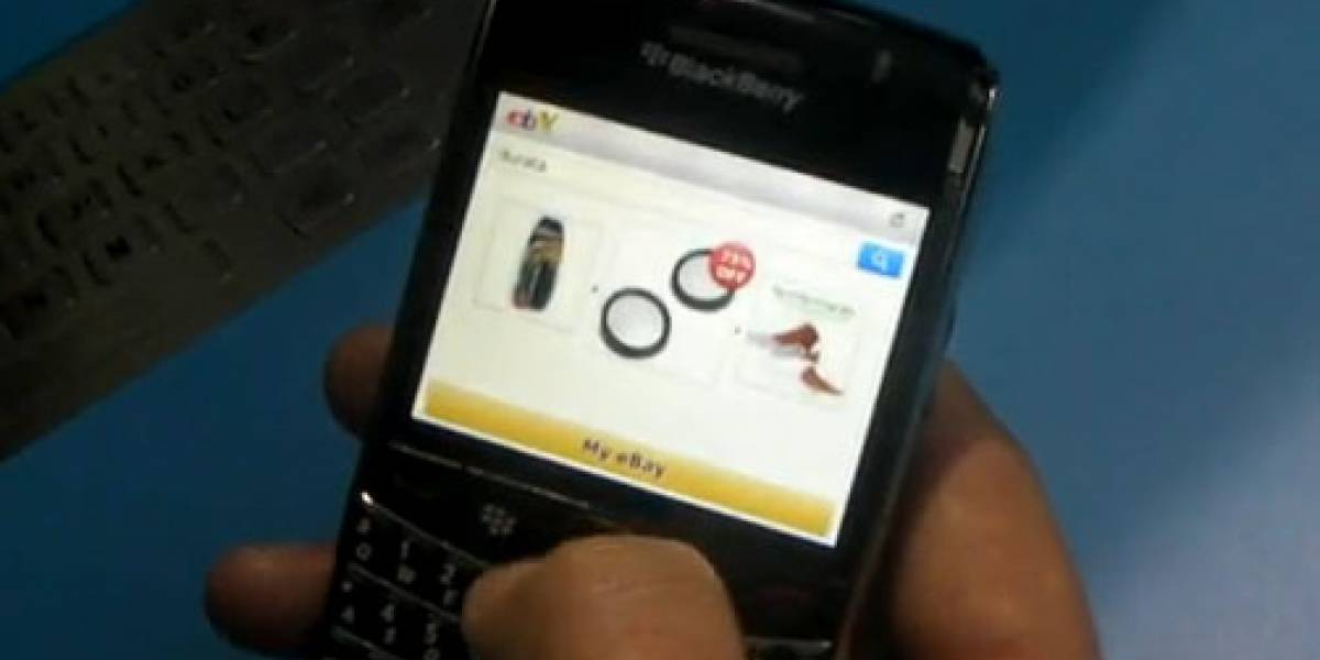 Aplicación de eBay, ya disponible para BlackBerry