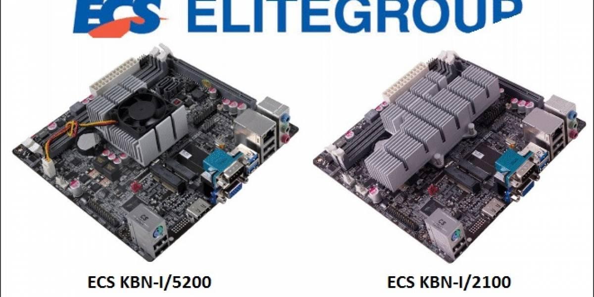 ECS presenta sus tarjetas madre KBN-I/5200 y KBN-I/2100