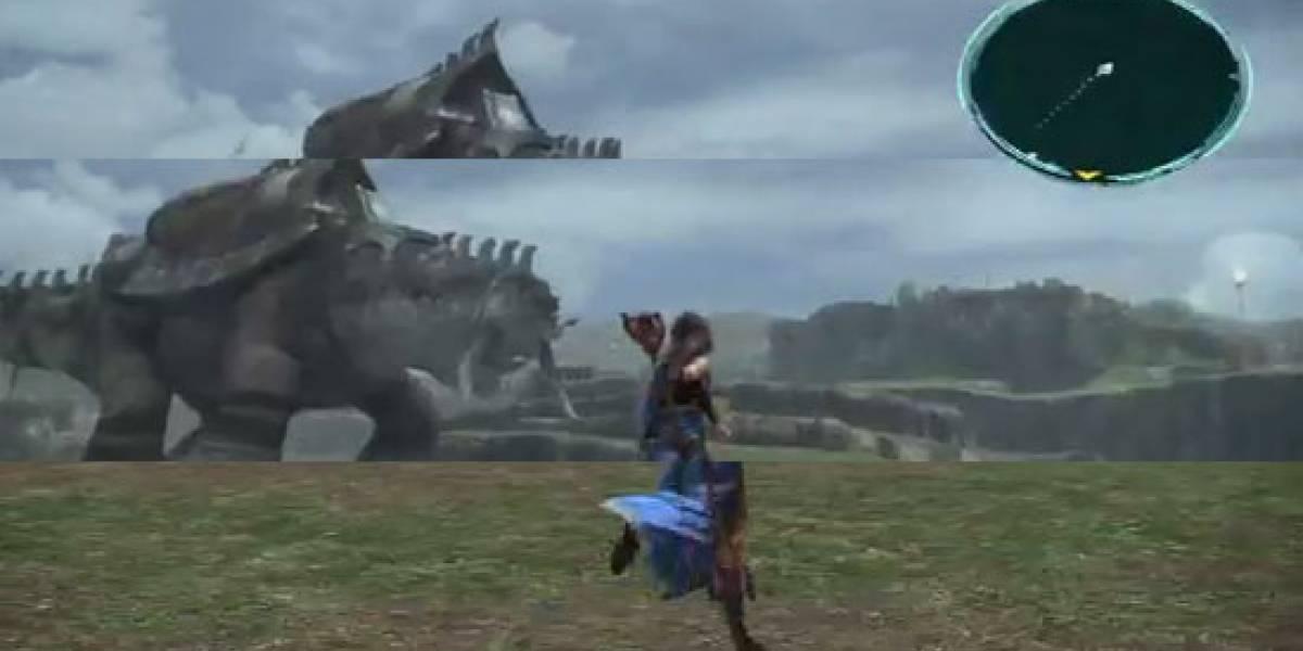 Final Fantasy XIII de PS3 no es amigable con tu tele vieja