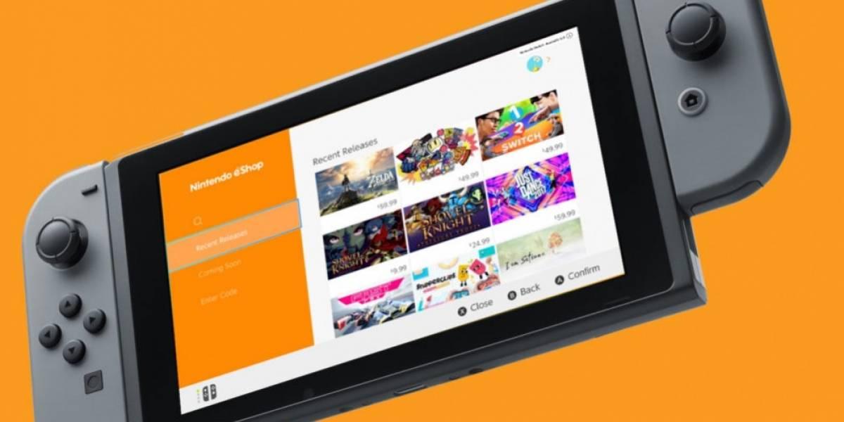 La eShop de la Nintendo Switch ahora permite guardar datos de tarjeta de crédito