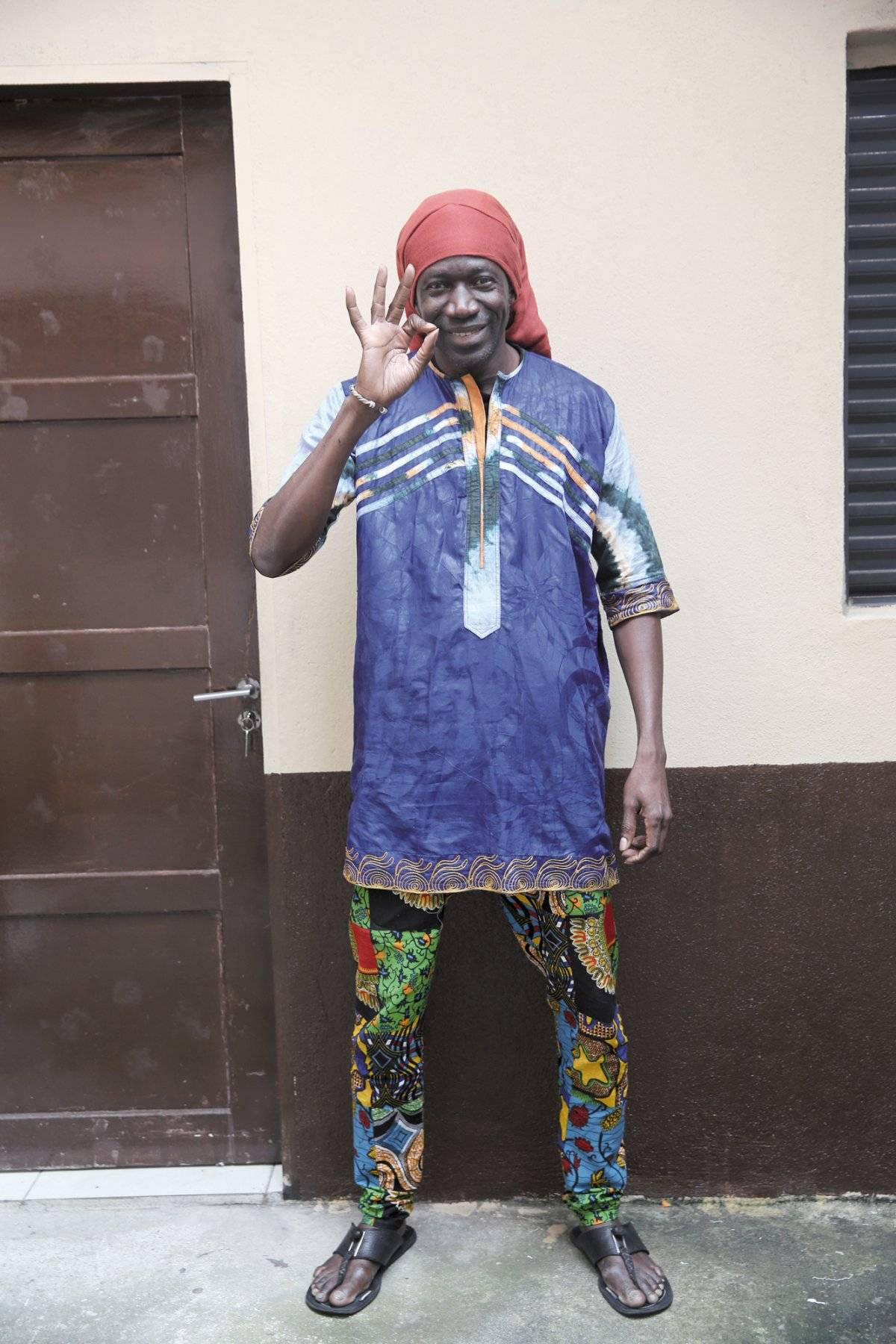 O costureiro senegalês Laye Sinaba André Porto/Metro