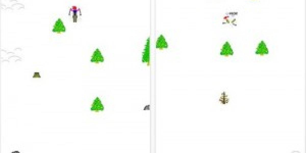 Juego del esquiador de Microsoft, gratis para iPhone