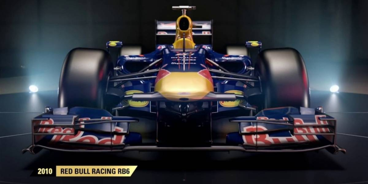 F1 2017 incluirá el Red Bull de Sebastian Vettel