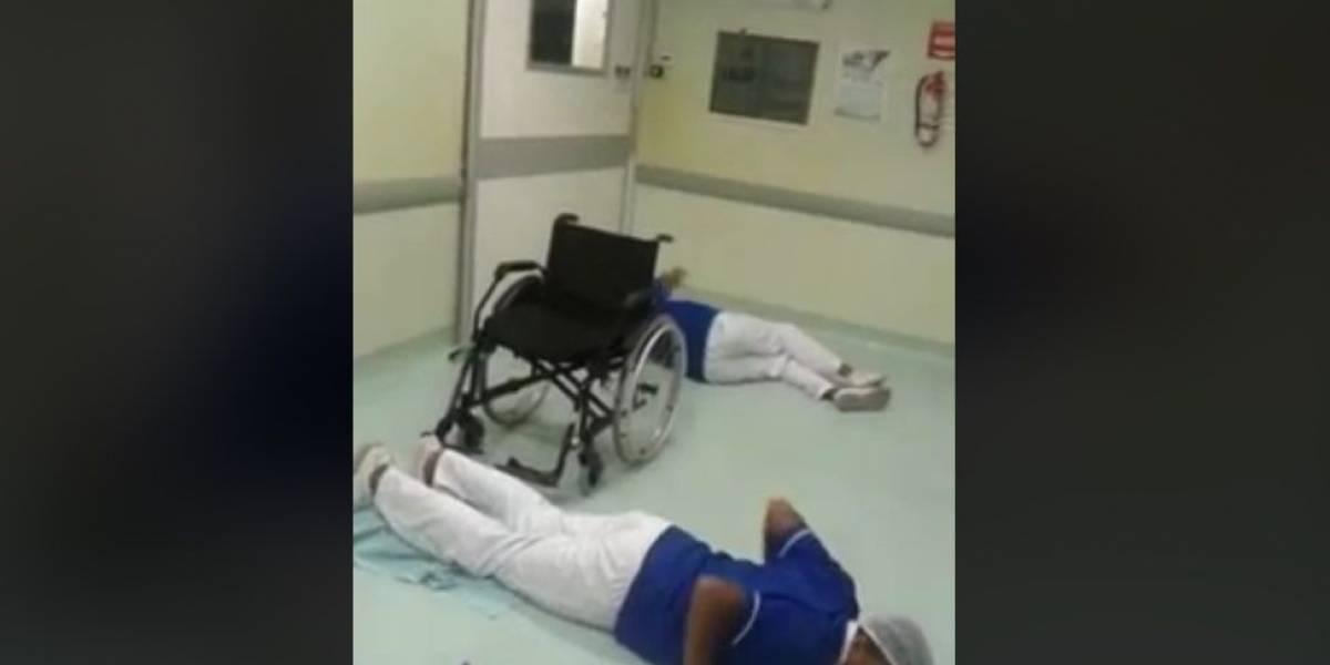 Hospital demite funcionários que gravaram 'Que tiro foi esse?' no trabalho