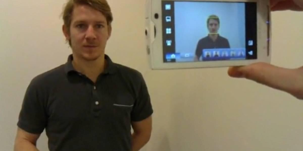Reconocimiento facial en el Sony Ericsson X10