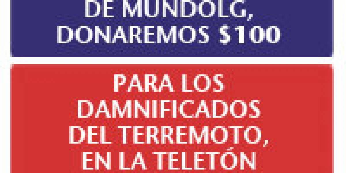 Terremoto Chile: LG está donando $100 por cada fan en Facebook (Actualizado)