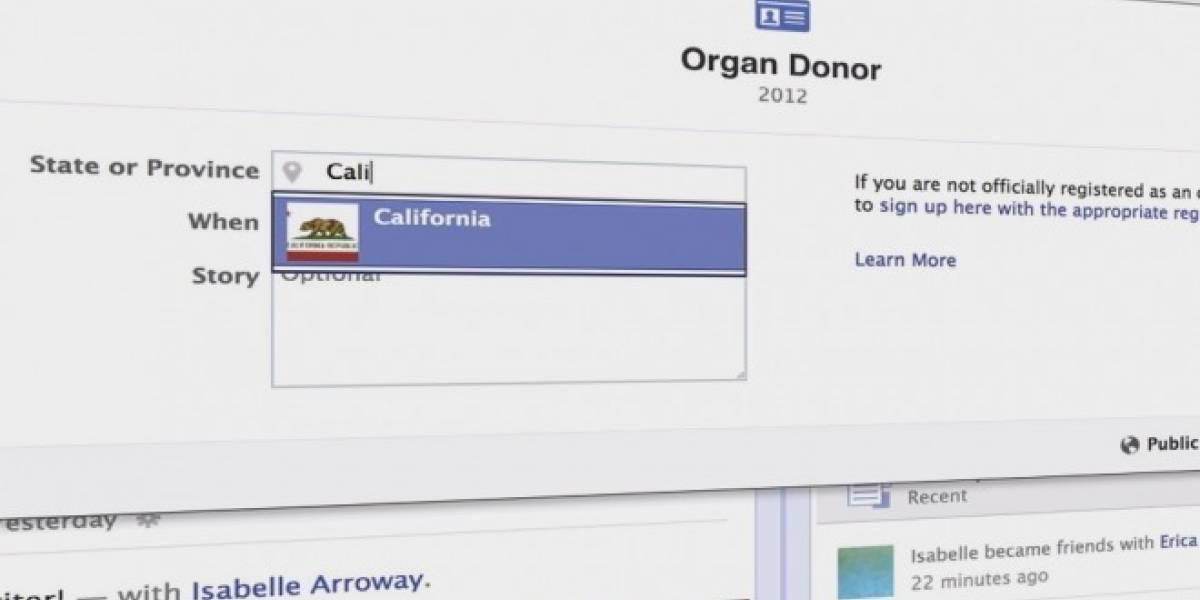 Campaña para incentivar donación de órganos en Facebook fue exitosa, según análisis