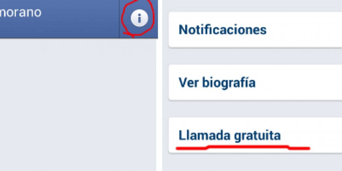 Facebook Messenger permite hacer llamadas gratis en México y Chile