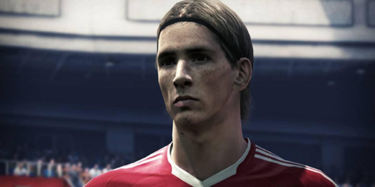 Fernando Torres acompañará a Messi en la portada de PES 2010