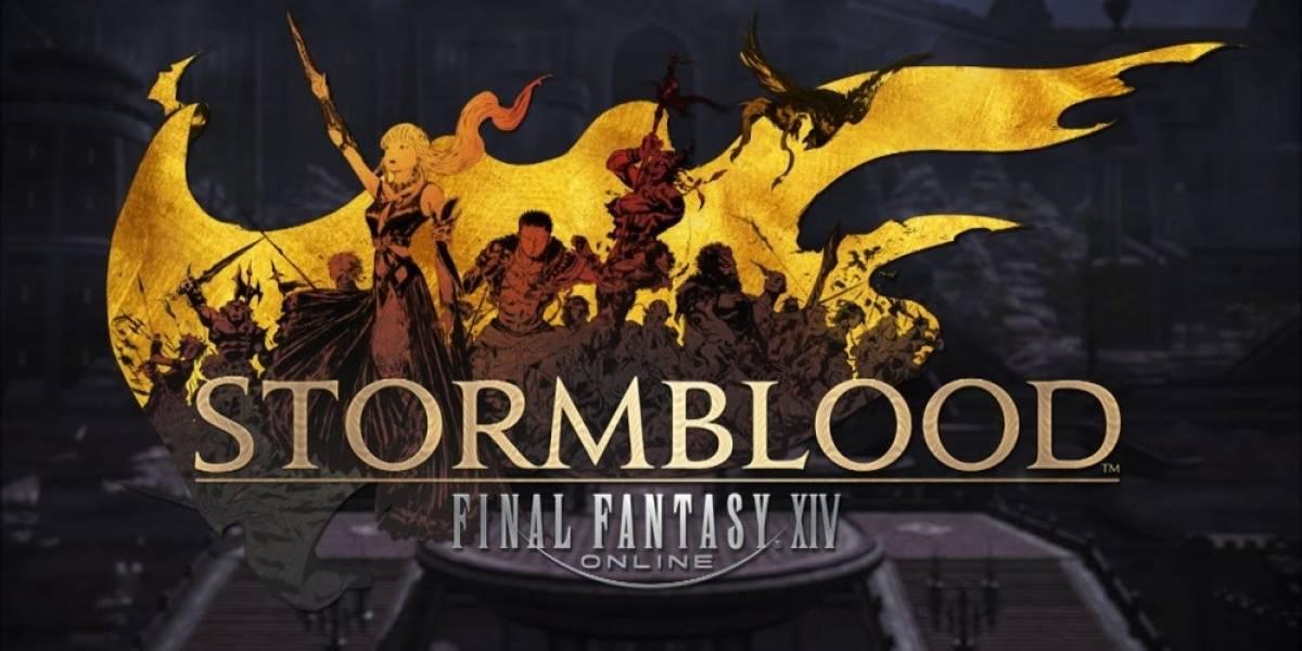 Final Fantasy XIV: Stormblood recibe varios videos con jugabilidad