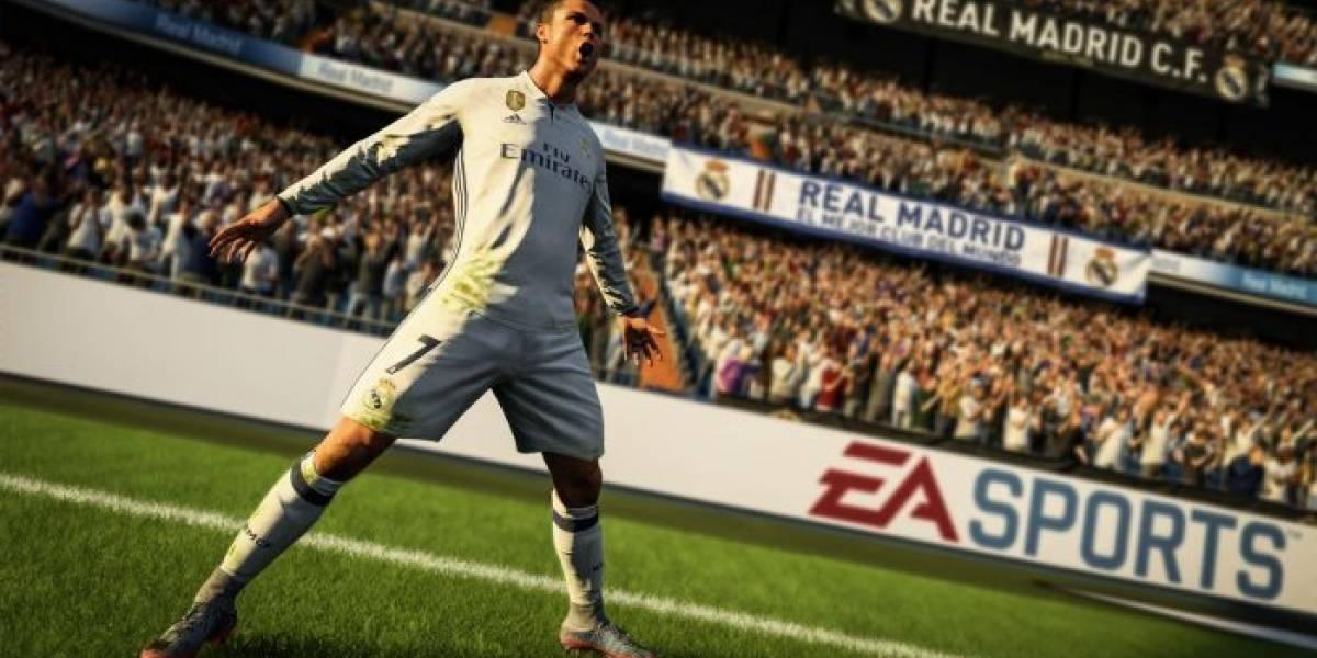 FIFA 18 tuvo 1.6 millones de jugadores concurrentes en su primer fin de semana