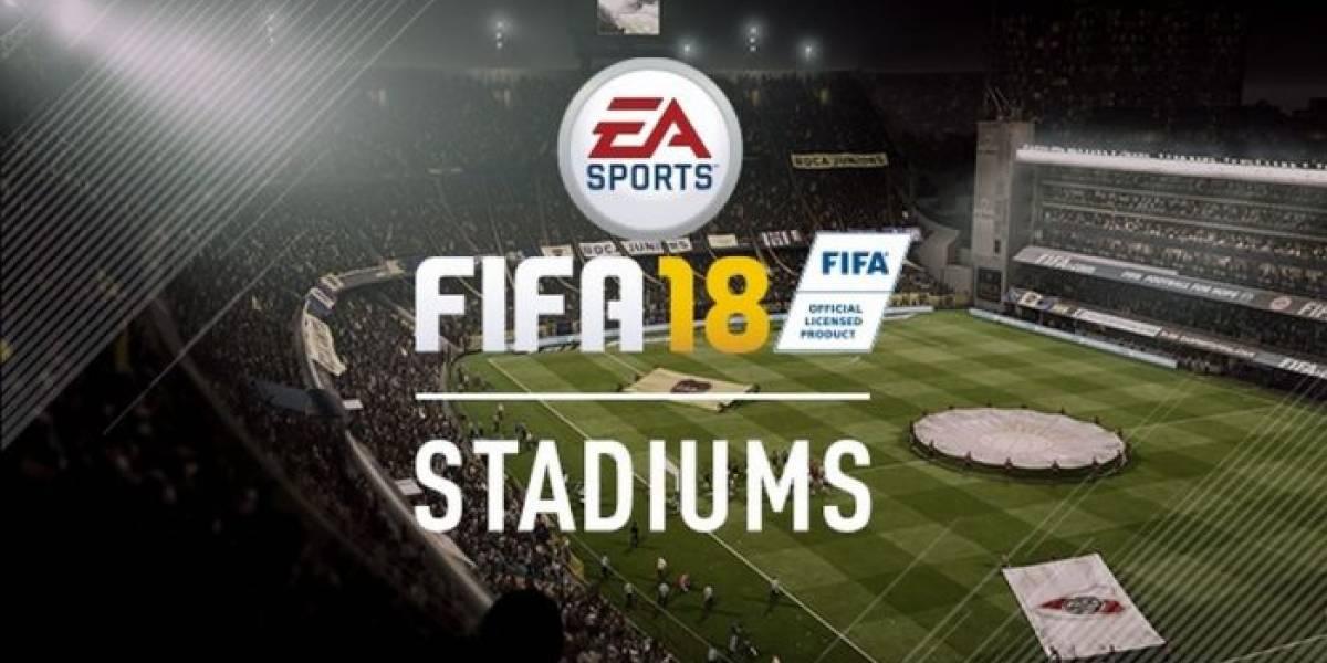Estos son todos los estadios incluidos en FIFA 18