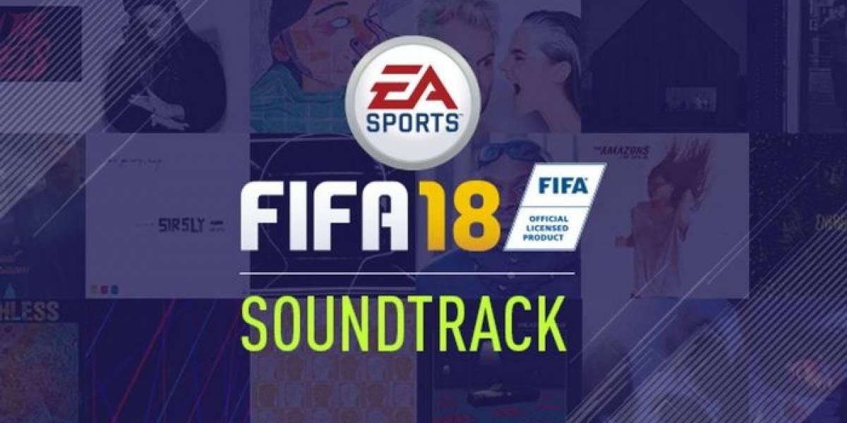 EA Sports revela la banda sonora de FIFA 18