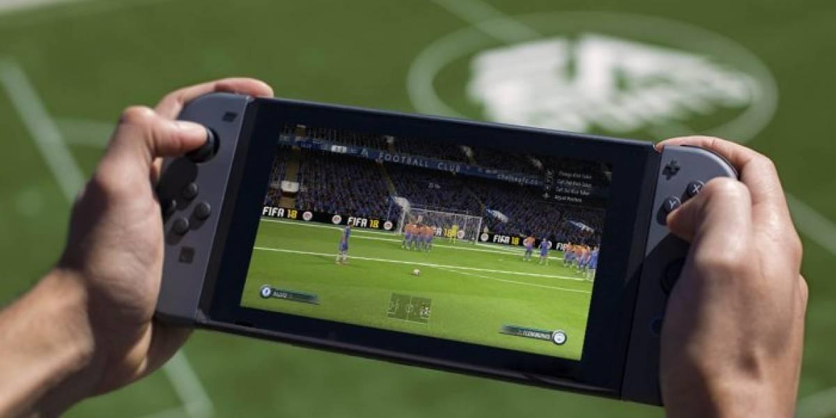 EA dice que Switch recibirá más juegos de FIFA en el futuro