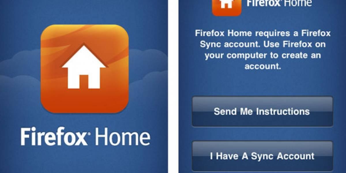 Firefox Home para iPhone, aprobada y ya disponible en la App Store