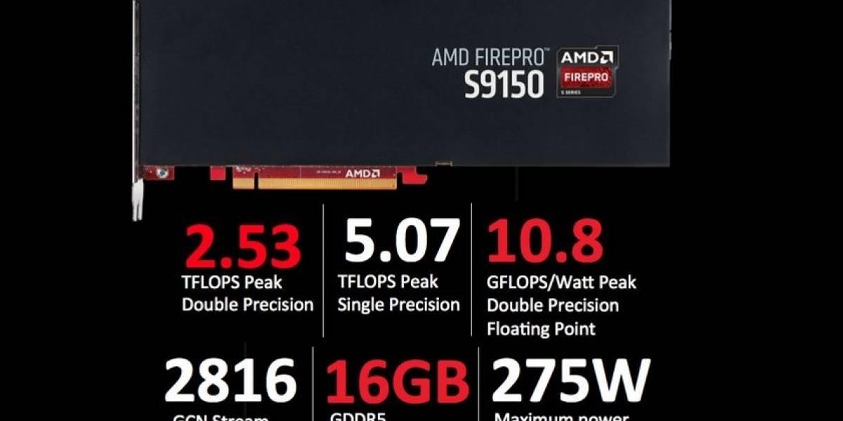 AMD lanza sus cGPUs FirePro S9150 y FirePro S9050